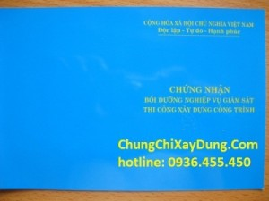 lớp tư vấn giám sát tại Hà Nội, Đà Nẵng, Hồ Chí Minh